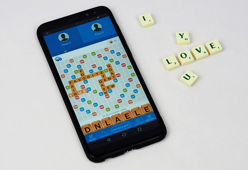 "Love story - ""Words with friends"""
